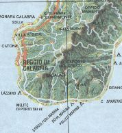 Extract from 1999 Agip Camping Map