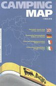 1999 Agip Camping Map (Italy)
