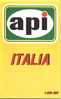 1993 API map of Italy