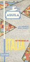 1962 Aquila map of Italy