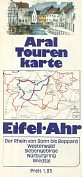 1972 Aral map of Eifel Ahr