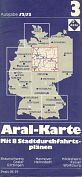 1972  Aral map 3 of West Germany