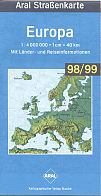 1998 Aral map of Europe