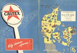 ca1958 Jesperson & Pio map with Caltex advert