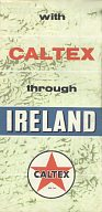 1958 Caltex map of Ireland