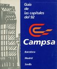 1992 Campsa booklet for the 3 capitals