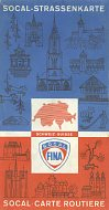 1972 Socal Fina map of Switzerland