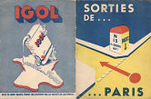 1950s Igol map of Paris