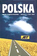 1998 Jet map of Poland