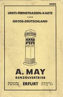 1939 A May map of Germany