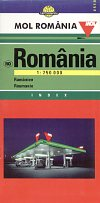 1999 Mol map of Romania
