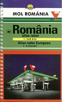 2000 MOL Road Atlas of Romania