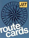 1970 Jet route card