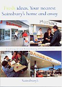 1998 Sainsbury's map booklet of Britain