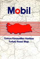 1990 Mobil atlas of Turkey