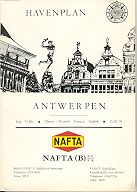 1970 Nafta map of Antwerp Harbour