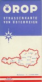 ca1961 Orop map of Austria