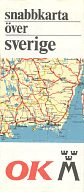 1969 OK/Motormans map of Sweden