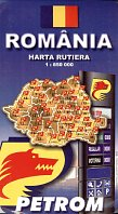 1999 Petrom Map of Romania