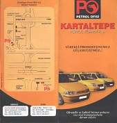 Leaflet, with rudimentary map, from Kartaltepe Petrol (PO)