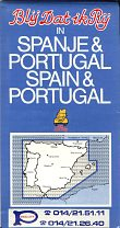 1984 Pollet map of Spain/Portugal