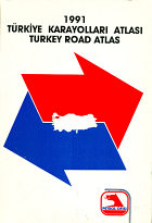 1991 Petrol Ofisi road atlas of Turkey