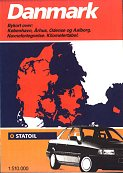 late 80s/early 90s Statoil map