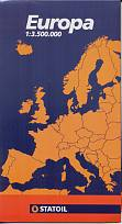 late 90s Statoil map of Europe