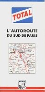 1963 Total Autoroute map