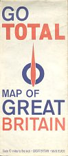 1964 Total map of Great Britain