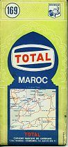 1964 Total map of  Morocco