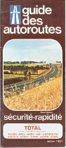 1981 Total Autoroute booklet
