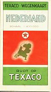 ca1938 Texaco map of the Netherlands