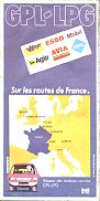 1983 VIFF GPL-LPG map of France