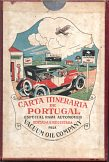 late 1920s Auto-Gazo/Mobiloil map of Portugal