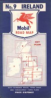 ca1958 Mobil map of Ireland