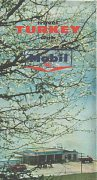 1965 Mobil map of Turkey (English edition)
