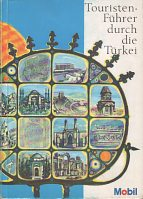 1972 Mobil map guide of Turkey (German edition)