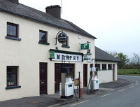 A small village filling station in Ireland