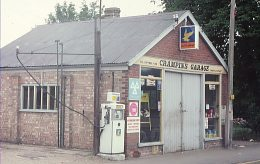 A small Ultramar station seen in Essex in 1979