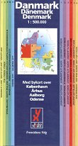 2000 HydroTexaco map of Denmark