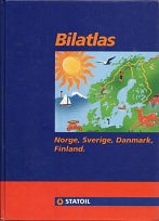 1992 Statoil atlas of Nordic countries