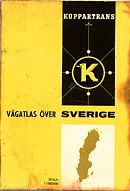 1961 Koppartrans map of Sweden