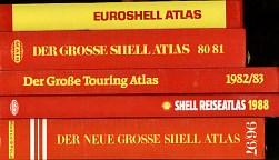 Five Shell atlases from the spine