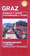 2000 Shell street map of Graz