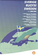 2001 Shell map of Sweden