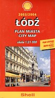 2003-4 Shell city plan of Lodz, Poland