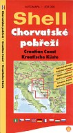 2004 Czech Shell map of Croatian Coast