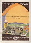 1927 Shell map booklet of Italy