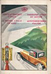 1930 map booklet of Italy